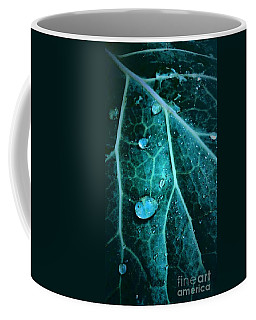 Aqua Abstract Storm In New Orleans Louisiana Coffee Mug by Michael Hoard
