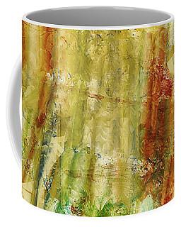 Coffee Mug featuring the digital art Abstract Sunday by Deborah Benoit