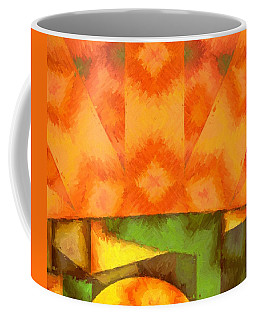 Abstract Sunrise Coffee Mug