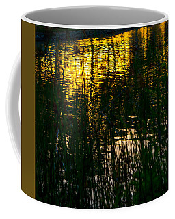 Abstract Sunset Reflection Coffee Mug