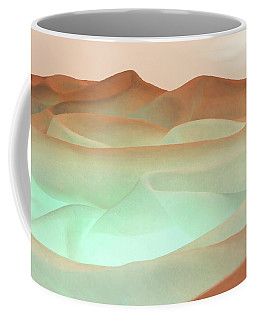 Abstract Terracotta Landscape Coffee Mug