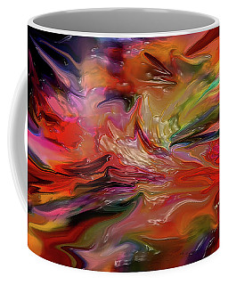 Abstract-the Wild Of The Sea Coffee Mug