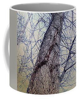 Abstract Tree Trunk Coffee Mug