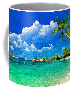 Abstract Tropical Atraction Coffee Mug by Anthony Fishburne