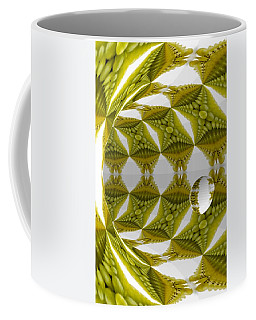 Abstract Tunnel Of Yellow Grapes  Coffee Mug
