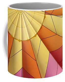 Abstract View Of Hot Air Balloon Coffee Mug