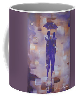 Abstract Walk In The Rain Coffee Mug by Raymond Doward