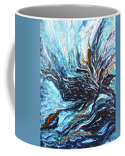 Abstract Water Dragon Coffee Mug