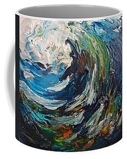 Abstract Wild Wave  Coffee Mug