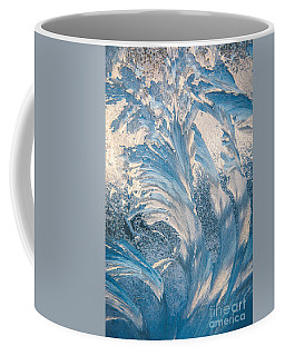 Abstract Window Frost Art Coffee Mug