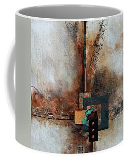 Abstract With Stud Edge Coffee Mug