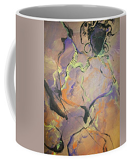 Abstract Woman Coffee Mug