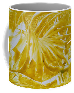 Abstract Yellow  Coffee Mug