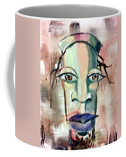Abstract Young Man #2 Coffee Mug by Raymond Doward