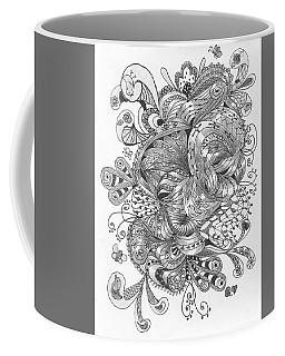 Abstract2 Coffee Mug by Quwatha Valentine