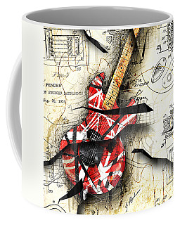 Abstracta 35 Eddie's Guitar Coffee Mug