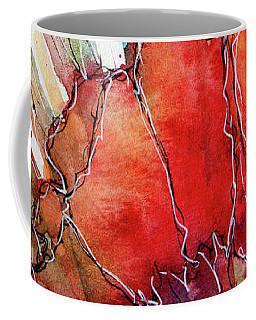 Abstracted Poppies Coffee Mug
