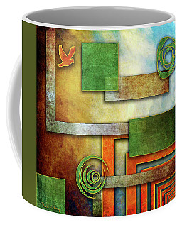 Coffee Mug featuring the digital art Abstraction 2 by Chuck Staley