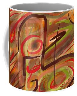 Abstraction Collect 2 Coffee Mug