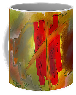 Abstraction Collect 3 Coffee Mug