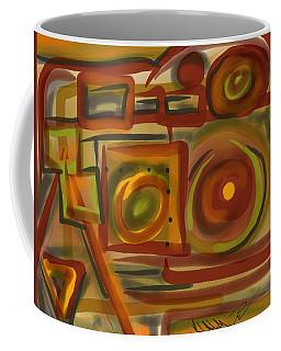 Abstraction Collect 4 Coffee Mug