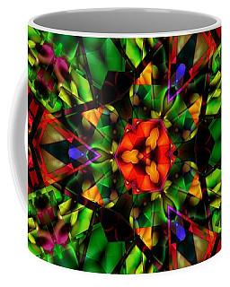 Abstraction Of Christmas Coffee Mug