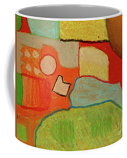 Coffee Mug featuring the pastel Abstraction123 by Paul McKey