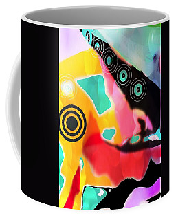 Abstractly Circular Coffee Mug