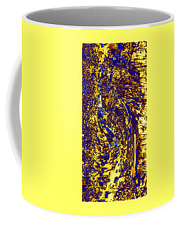 Coffee Mug featuring the digital art Abstractmosphere 3 by Will Borden
