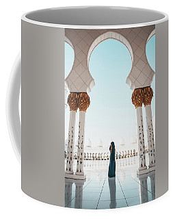 Abu Dhabi Mosque Coffee Mug