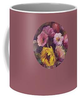 Abundance- Floral Painting Coffee Mug