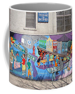 Academy Street Mural Coffee Mug