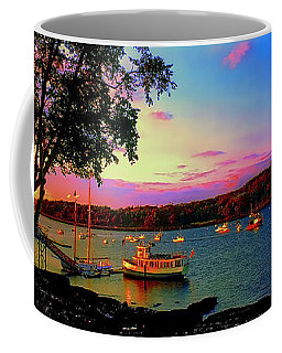 Acadia Bar Harbor Sunset Cruises.tif Coffee Mug