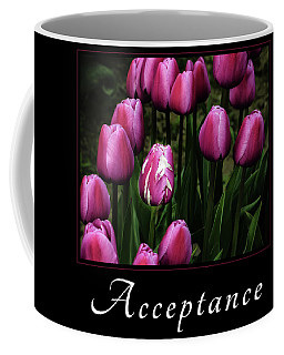 Coffee Mug featuring the photograph Acceptance by Mary Jo Allen