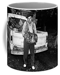 Accordion Scrapper Man  Coffee Mug