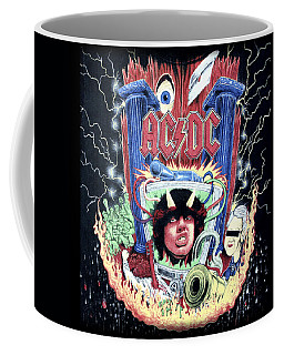 Acdc Coffee Mug by Gina Dsgn