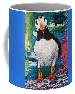 Ace   Puffin Huff Coffee Mug