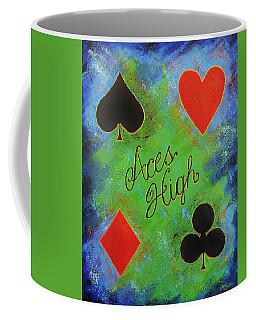 Aces High Coffee Mug