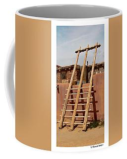 Acoma Ladder Coffee Mug by R Thomas Berner