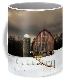 Coffee Mug featuring the photograph Acorn Acres by Julie Hamilton