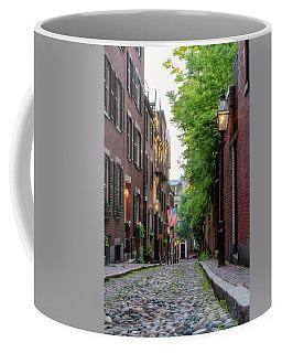 Coffee Mug featuring the photograph Acorn St. 1 by Michael Hubley