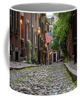 Acorn St. Boston Ma. Coffee Mug