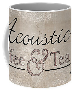 Acoustic Coffee And Tea Coffee Mug by Greg Jackson
