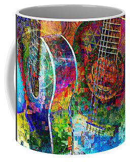 Acoustic Cubed Coffee Mug
