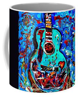 Acoustic Love Guitar Coffee Mug