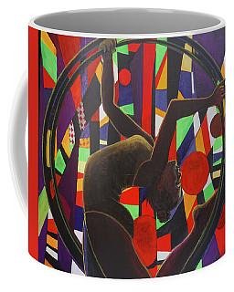Acrobat In Ring Coffee Mug