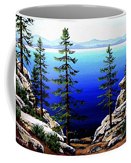 Across Lake Tahoe Coffee Mug