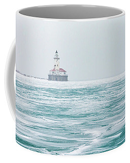 Across The Frozen Lake Coffee Mug