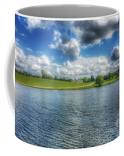 Across The Lake Coffee Mug by Isabella F Abbie Shores FRSA