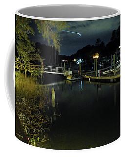 Across The Marina Coffee Mug